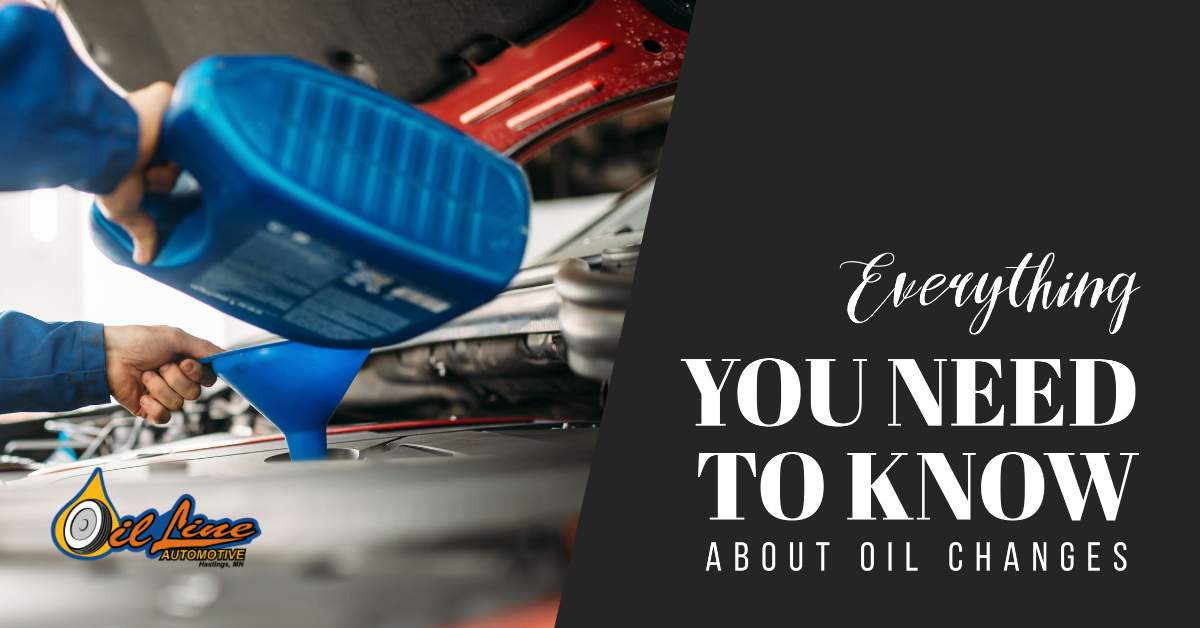 Everything You Need To Know About Oil Changes