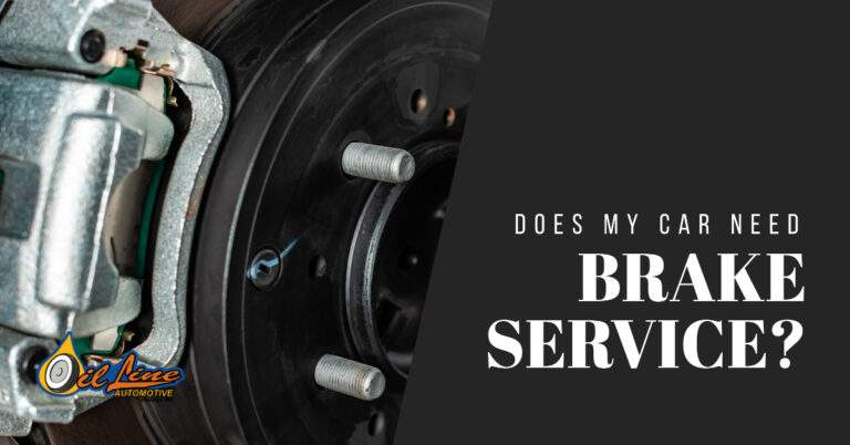 Does My Car Need A Brake Service