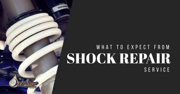 What To Expect From A Shock Repair Service